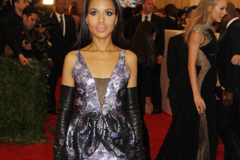 Kerry Washington at the 2013 Met Gala