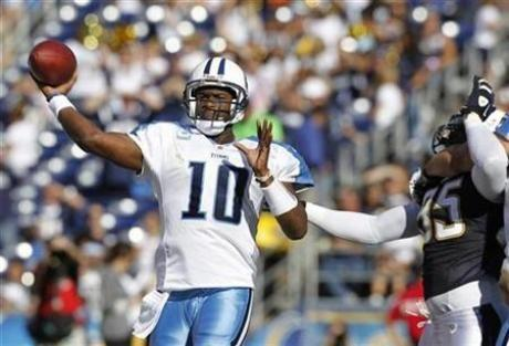Vince Young in Quarterback Limbo