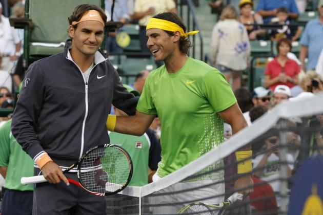 Federer, Nadal, Djokovic, Murray - a statistical comparison the top four