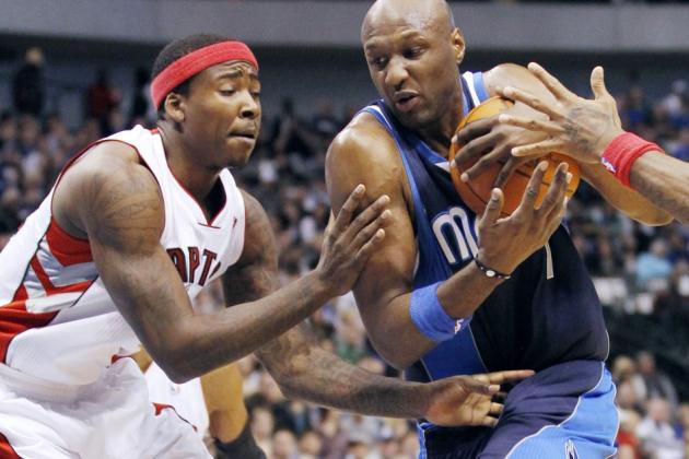 Lamar Odom: How His Season With the Mavericks Fell Apart