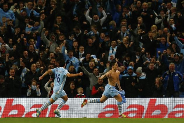 Man City Pile Up the Pressure in 2-1 Victory Over Chelsea