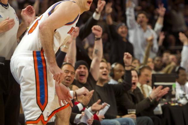 New York Knicks News: Is Steve Novak The Best Pure Shooter in the NBA?