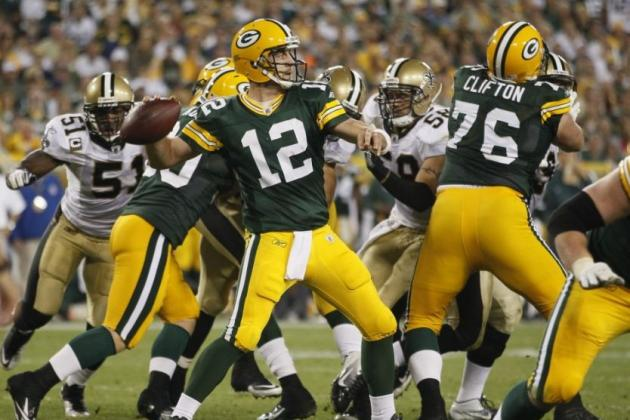 NFL Matchup: Aaron Rodgers And Green Bay Packers Offense vs. Jared Allen-Led Minnesota Vikings Defense