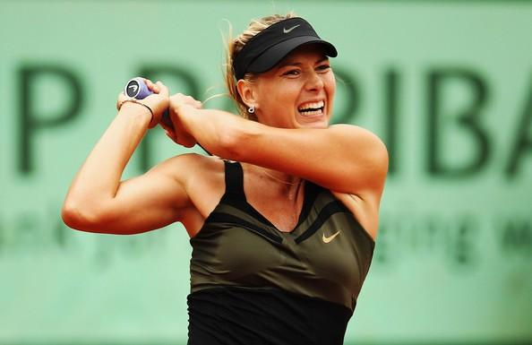 French Open: Maria Sharapova Closer To Career Grand Slam