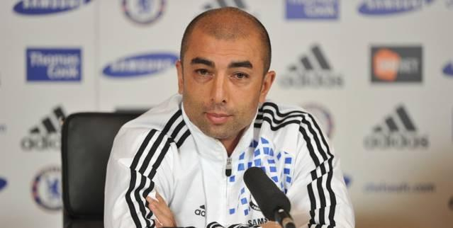 Chelsea News: Roberto Di Matteo Blames Referee For Chelsea's Defeat To Manchester United