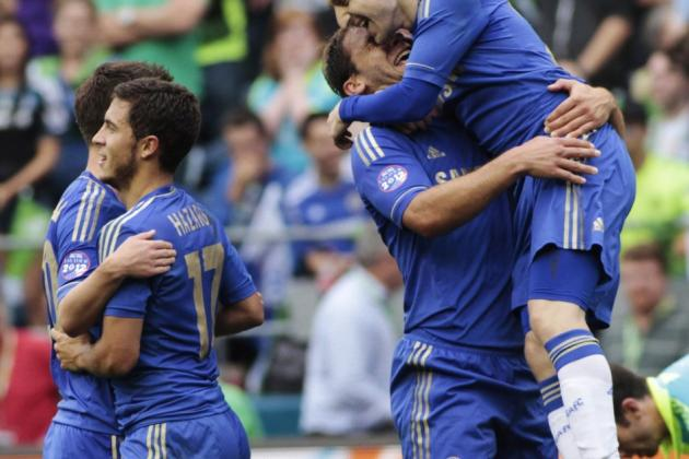 Chelsea New Boys Impress As They Beat Wigan