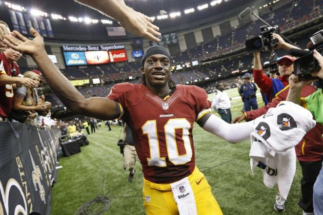 Washington Redskins News:  How Will Sir Bob Griffin III Fare In First NFC East Game?