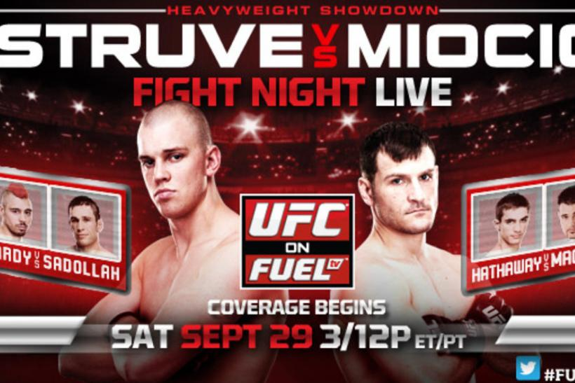 UFC on FUEL TV 5: Struve vs. Miocic Predictions: The Prelims
