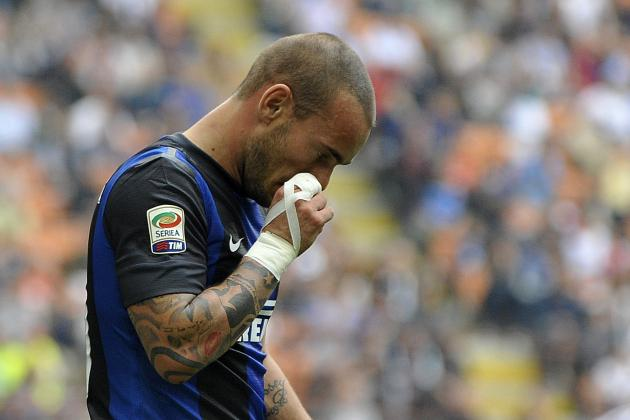 Wesley Sneijder Transfer Rumors And Speculation: Will