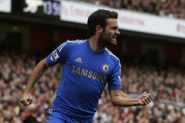 EPL News: Top 5 Premier League Player Rankings: Juan Mata leads After Match Day 7