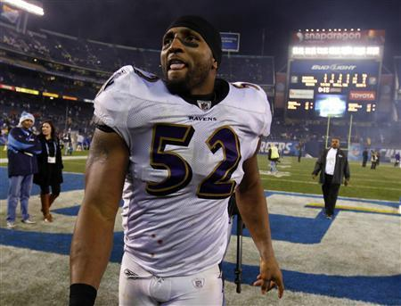 Ray Lewis Returns To Baltimore For Ravens vs. Raiders