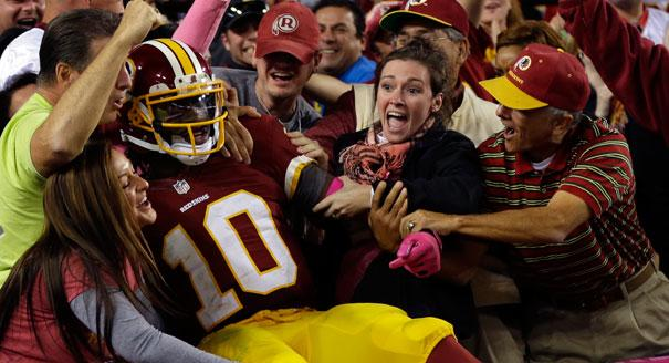Redskins at Giants Preview: RG3's Rushing Ability Meets Osi Umenyiora, Jason Pierre Paul & Justin Tuck Pass Rush