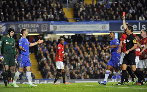 Manchester United vs. Chelsea Aftermath: Branislav Ivanović Sending Off Was The Turning Point