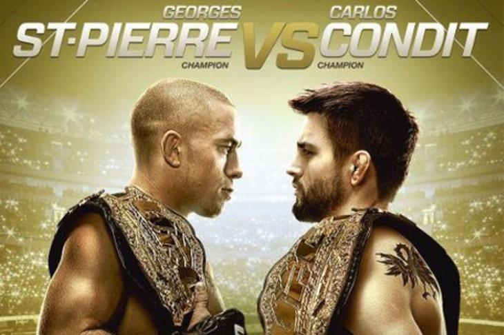UFC 154 George St-Pierre vs Carlos Condit on PPV, Main Card Predictions