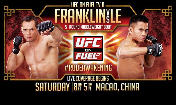 UFC on FUEL TV 6: Franklin vs. Le Predictions: The Prelims