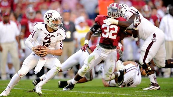Johnny Football Phenomenal In Win Over No. 1 Alabama