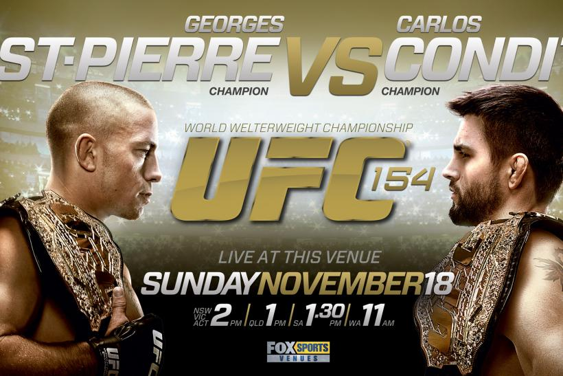 UFC 154: The Return of Georges St. Pierre