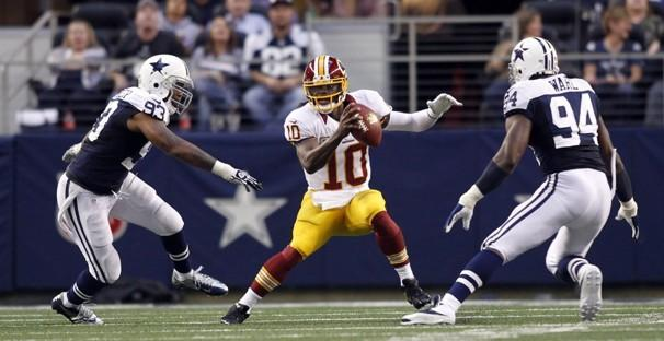 RG3 and Alfred Morris Fire Washington Redskins Back Into Playoff Hunt After Outscoring Dallas Cowboys on Thanksgiving