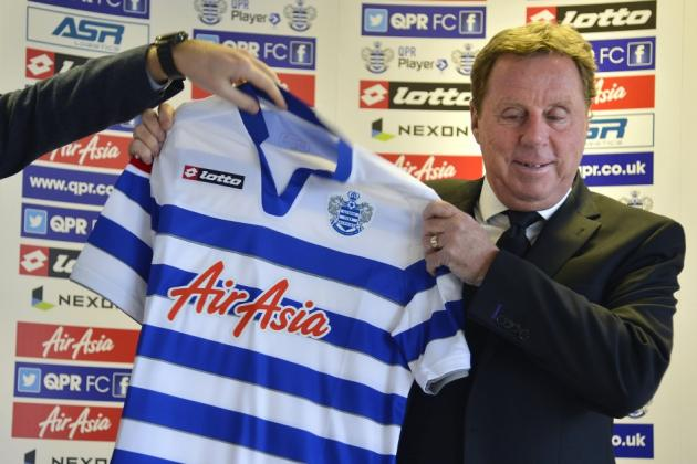 QPR News: Only Redknapp Can Rescue Rangers