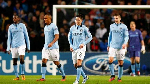 Manchester City Crash Out Of Champions League In Embarrassing Fashion
