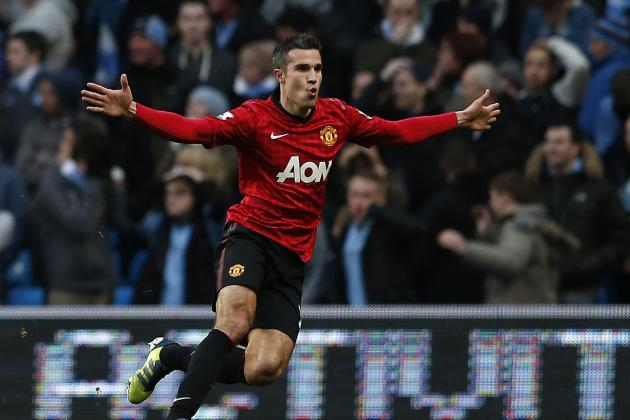 Manchester United News: Grading Robin van Persie's Impact at Old Trafford Since the Summer Switch