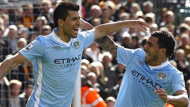 Tevez and Aguero: The Men To Get Man City Back Into The Title Race