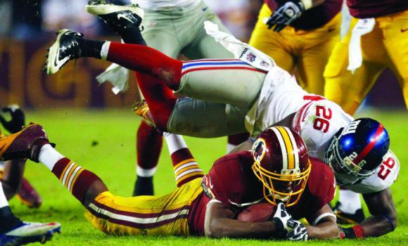 Washington Redskins Commentary: Why Workhorse Running Back Alfred Morris Is The Offensive Rookie Of The Year Darkhorse
