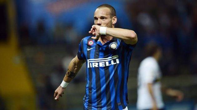 Wesley Sneijder Transfer Rumors: Inter Milan Star Talking Turkey with Galatasaray