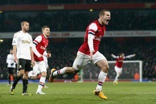 Arsenal 1-0 Swansea City Analysis: Arsene Wenger Must Continue With A Four-Man Midfield