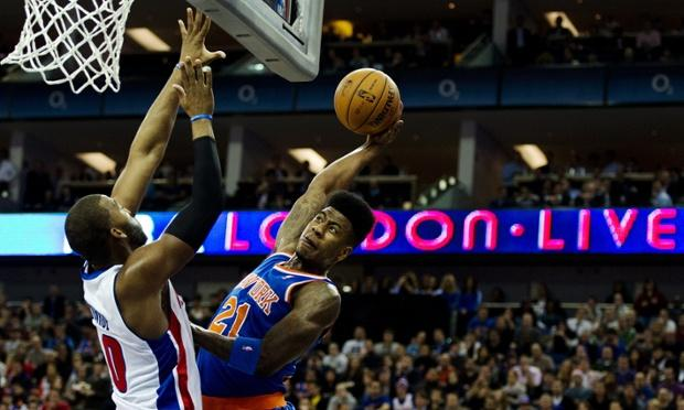 The Return Of The High-Top: Iman Shumpert Returns In Knicks London Win