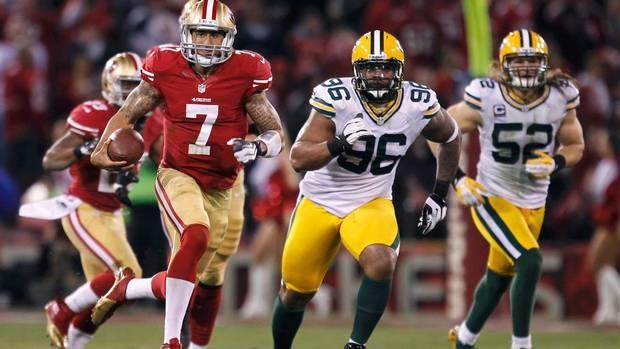Colin Kaepernick Running, Ravens And 49ers Defenses Make Super Bowl XVLII Most Physical One Yet