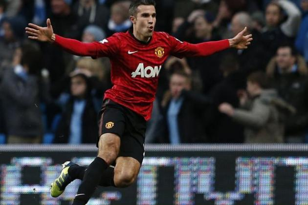 Summer 2012 Transfer Robin van Persie's First Half-Season For Manchester United Has Been Incredible