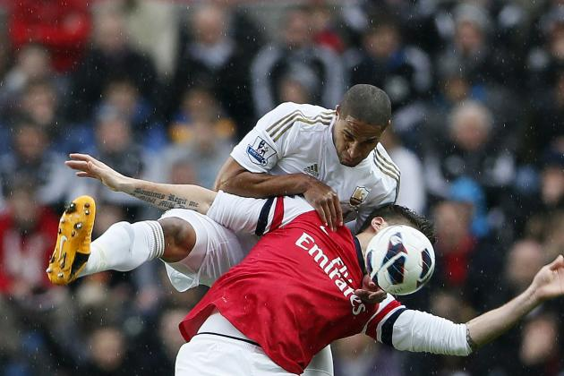 Arsenal Transfer Rumors: Gunners In Talks To Sign Swansea City Centre-Back Ashley Williams