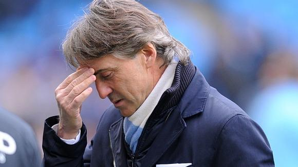 What A Difference A Year Makes: Stubborn Mancini Shown The Door After A Year Of 'Failure' At City.