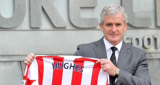 Back Against The Wall: Mark Hughes Must Get Back To Basics At Stoke City.