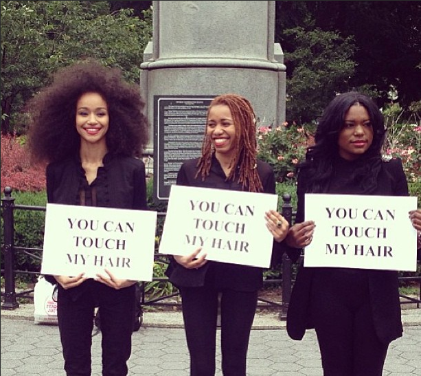 'You Can Touch My Hair' Exhibit Opens Discussion About The Mysteries Of Black Hair