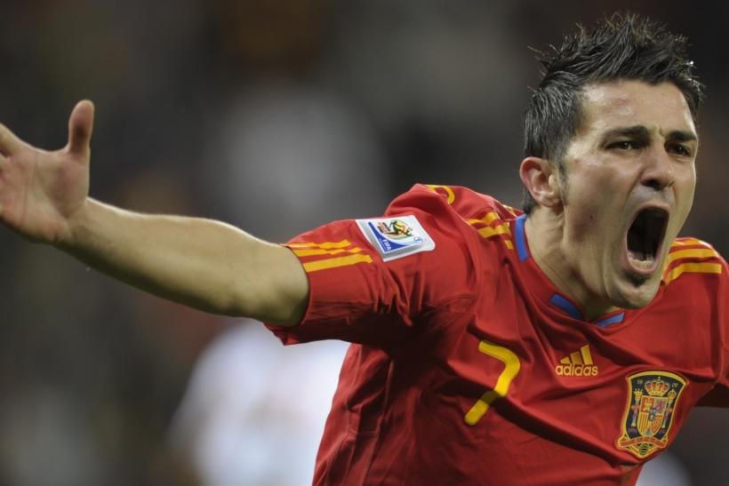 Arsenal To Battle Tottenham For The Signing Of Barcelona Striker David Villa