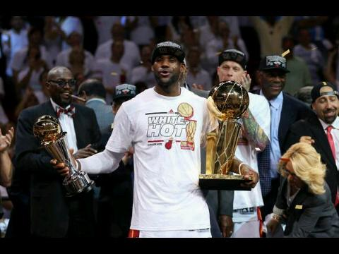 Good To Be King: LeBron James Is Now The Greatest Sportsman On The Planet.