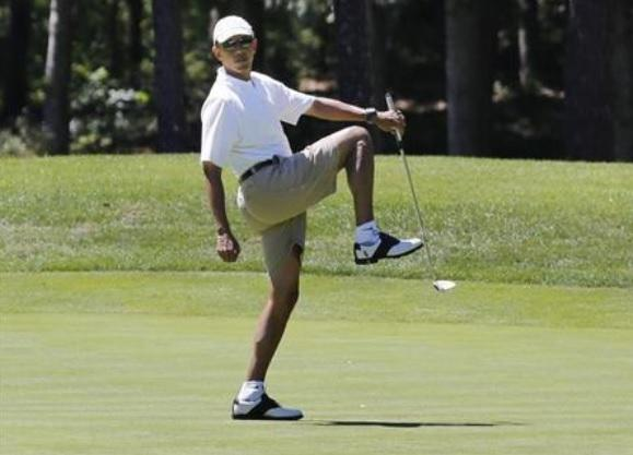 Obama's Golfing Vacations: Not A Story