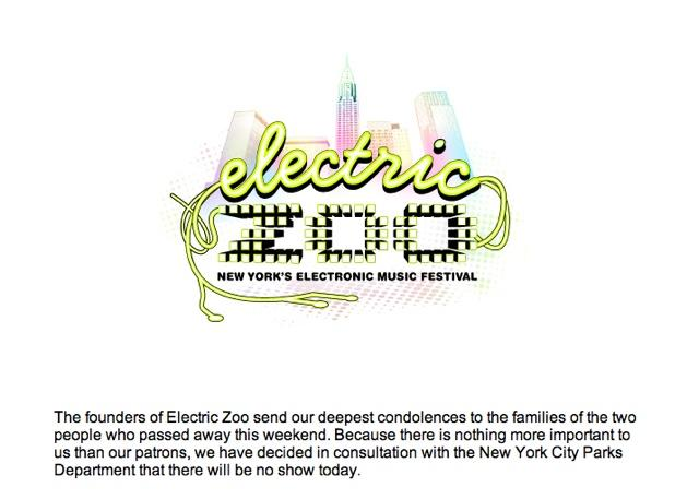 Standard Precaution And Personal Responsibility Could Have Saved Lives At Electric Zoo