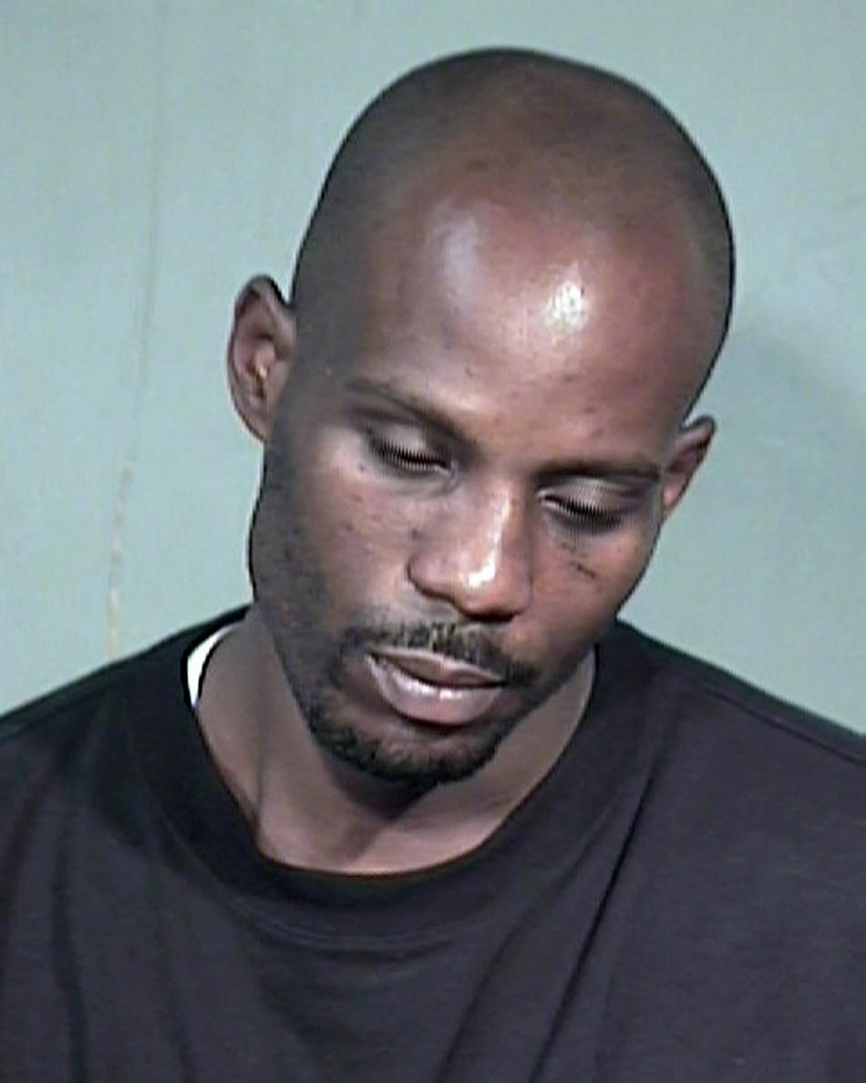 """Rapper Earl """"DMX"""" Simmons is shown in this Maricopa County Sheriff's Department booking photograph"""