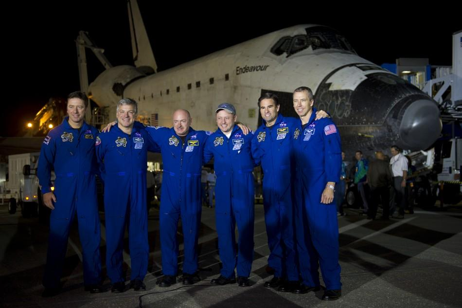 NASA Space Shuttle Endeavour Crew