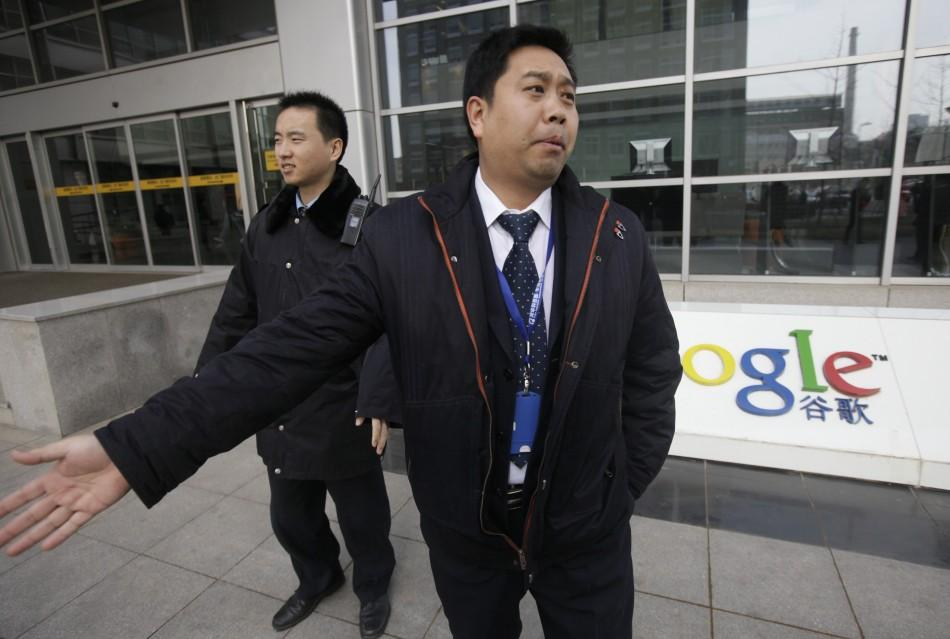 China vs. Google