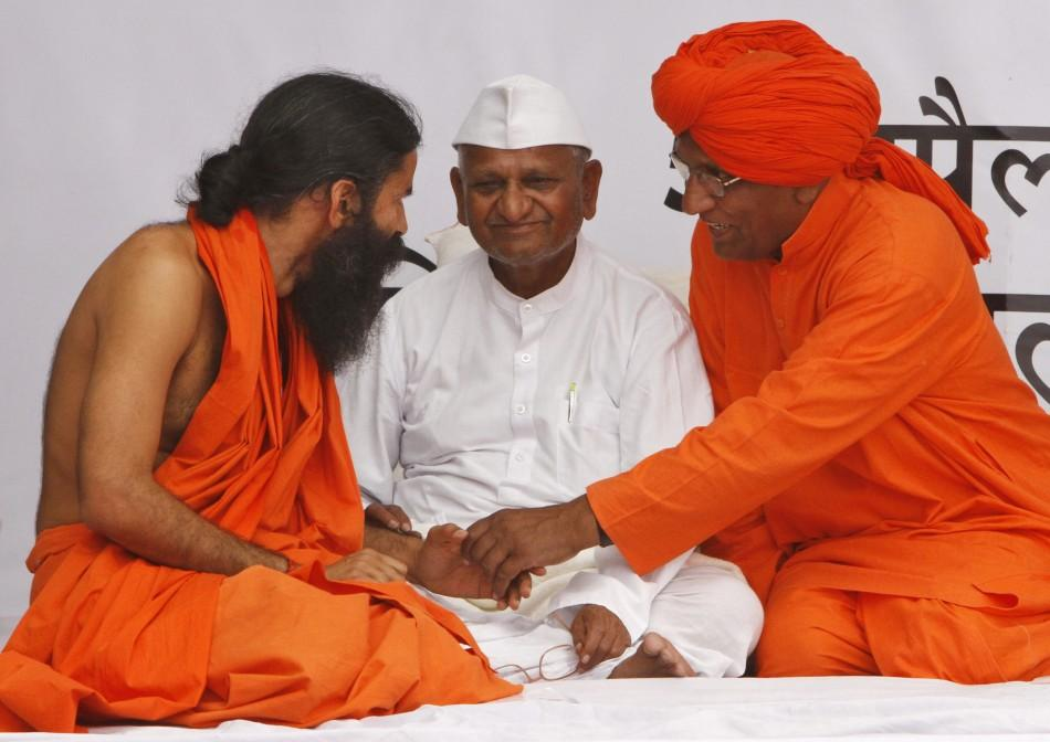 Swami Ramdev begins fast to the death