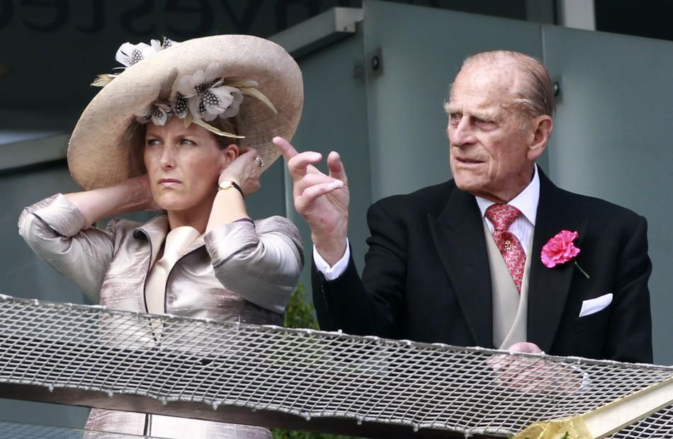 Countess of Wessex and Prince Philip