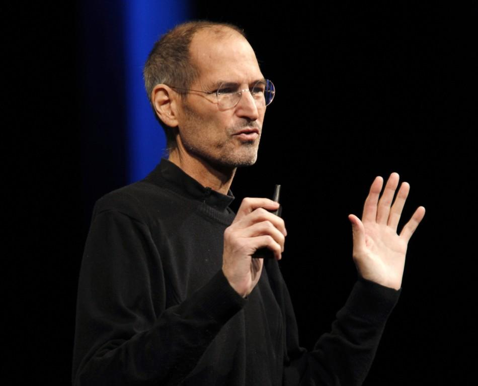 Apple Inc CEO Steve Jobs delivers the keynote address at the Apple Worldwide Developers Conference in San Francisco, California.