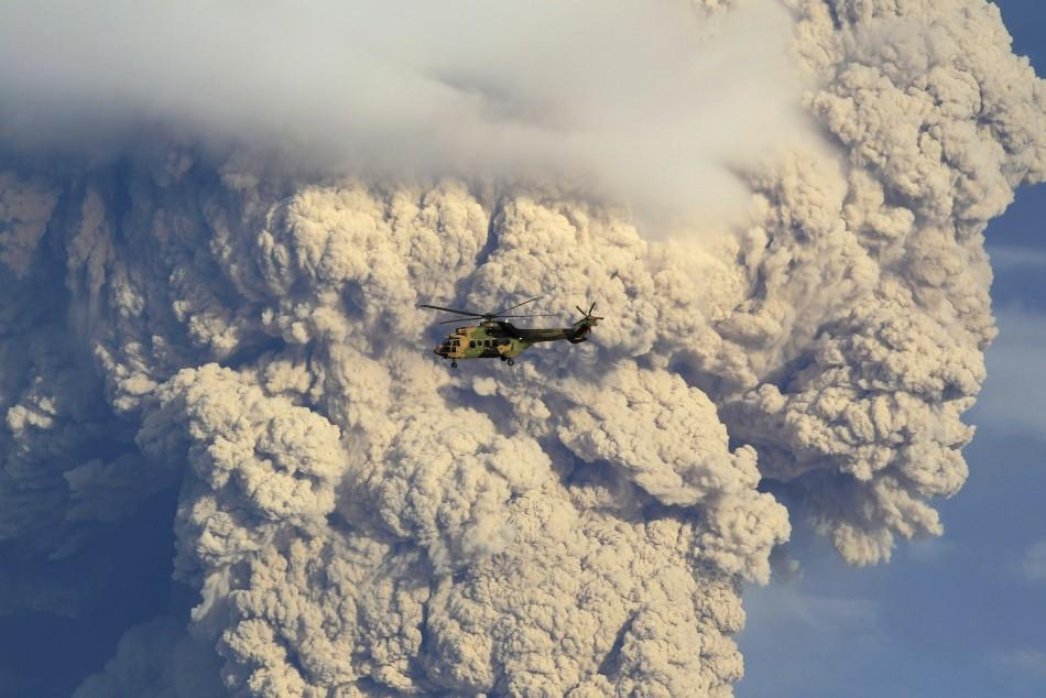 Chilean volcano sends plumes of ash across South America
