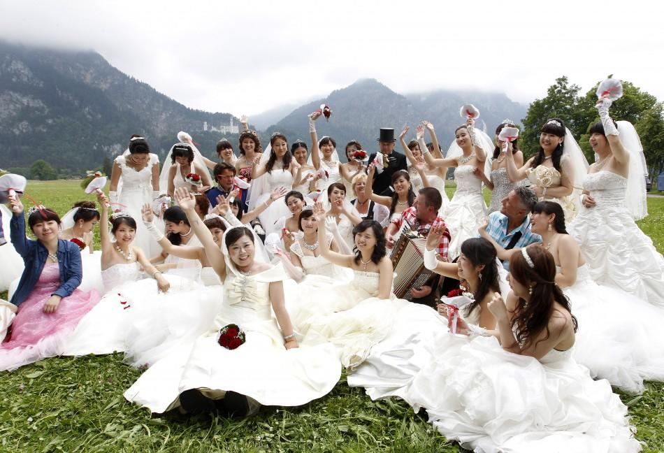 Chinese Newlyweds in Germany (1 of 5)