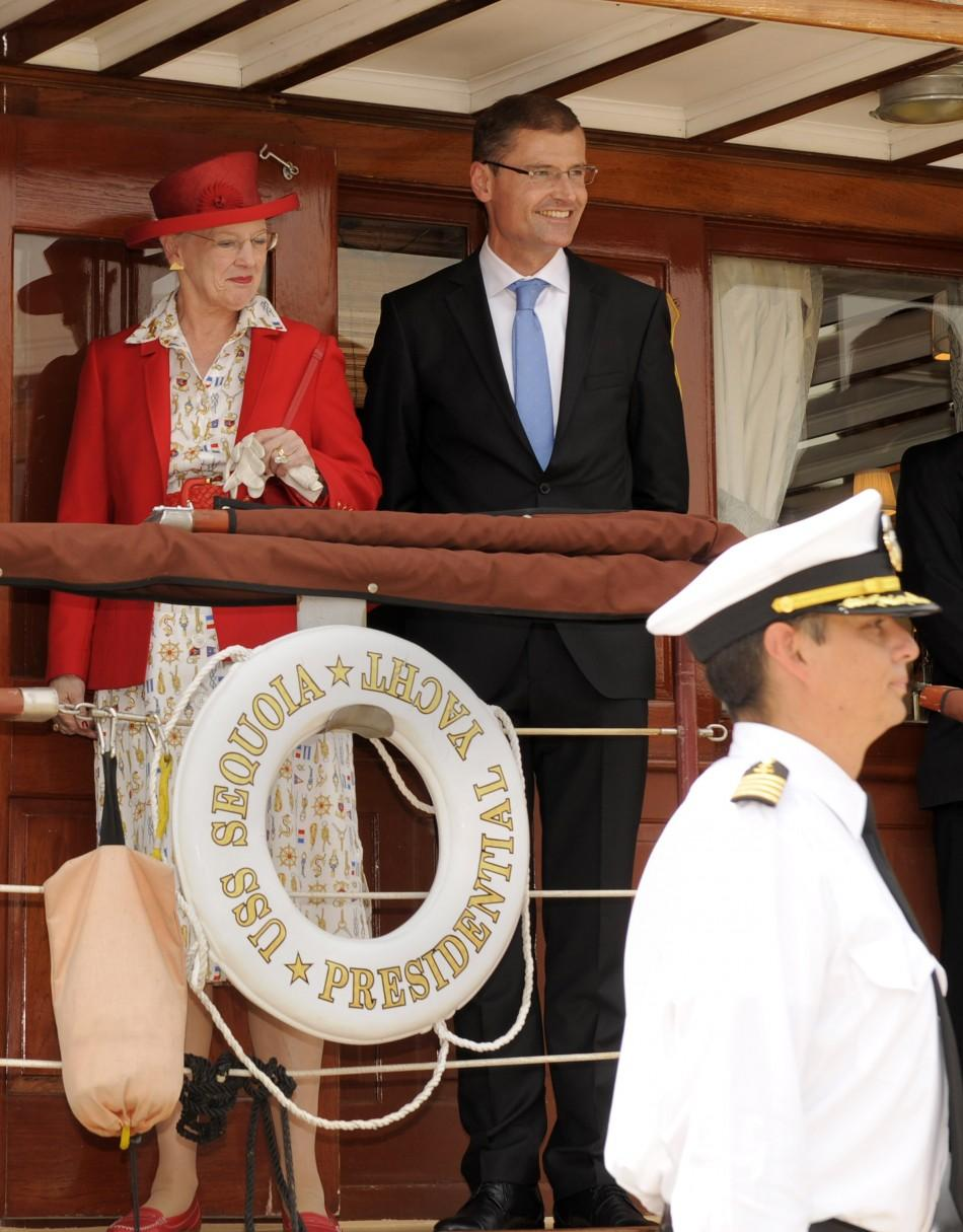 Danish Queen Margarethe visits Wasington