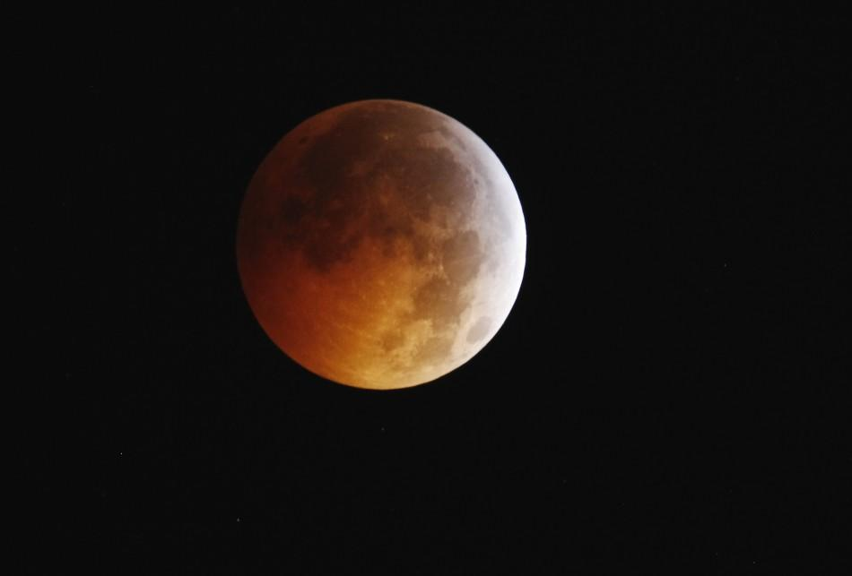 Full Lunar Eclipse above New York